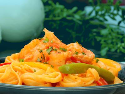 Image for Shrimp Fajita Pasta