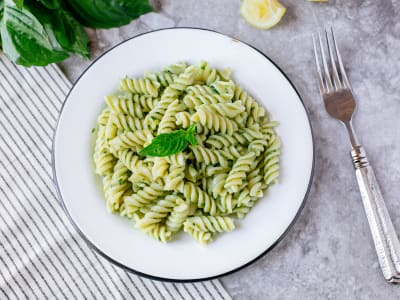 Image for Quick Creamy Avocado Pasta
