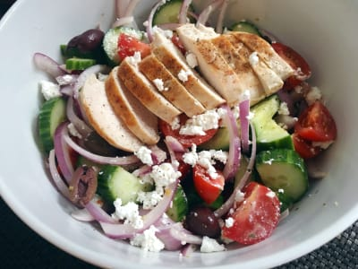 Image for Greek Salad with Chicken