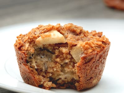 Image for Hearty Oatmeal and Apple Muffins