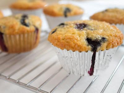 Image for Blueberry Corn Muffins
