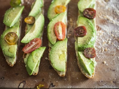 Image for Avocado Toast with Avocado Mousse