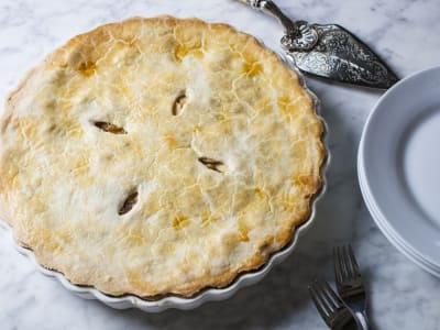 Image for Apple Compote Pie