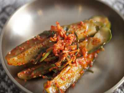 Image for Korean Cucumber Kimchi Banchan Side Dish