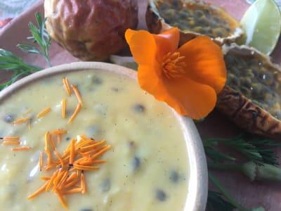 Image for Maracuya Coconut Lime Curd