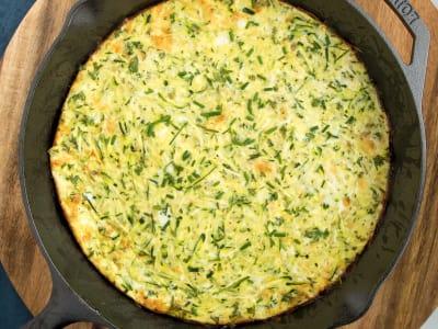 Image for Crustless Zucchini Quiche