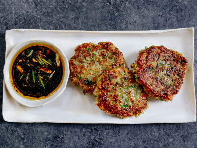 Image for Shrimp Fritters with Soy Dipping Sauce