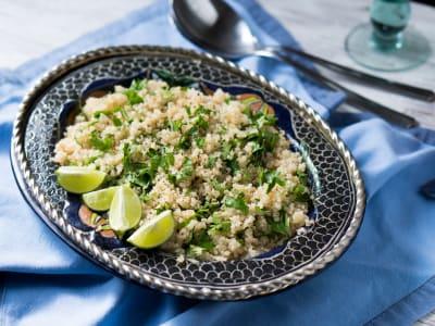 Image for Pressure Cooker Cilantro-Lime Quinoa
