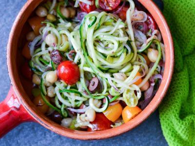 Image for Spiralizer Greek Zoodle Salad