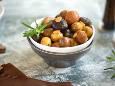 Image for Pressure Cooker Rosemary and Garlic Potatoes