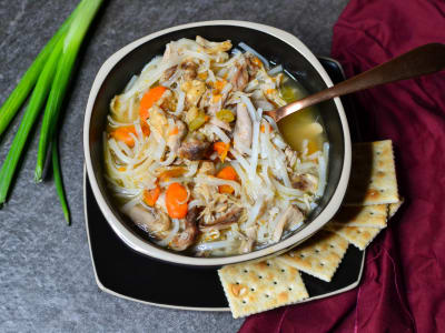 Image for Pressure Cooker Chicken Noodle Soup