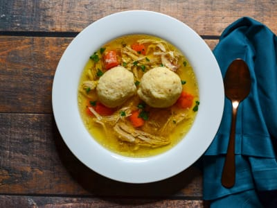 Image for Pressure Cooker Matzo Ball Soup