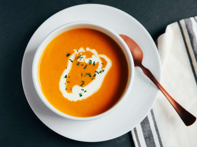 Image for Pressure Cooker Cream of Pumpkin Spice Soup