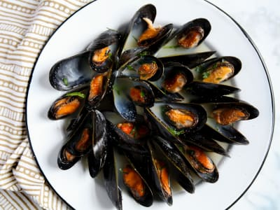 Image for Pressure Cooker Steamed Mussels
