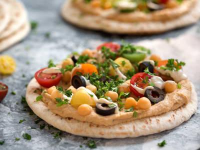 Image for Israeli Pita Pizzas