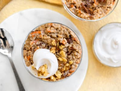 Image for Slow Cooker Carrot Cake Oatmeal