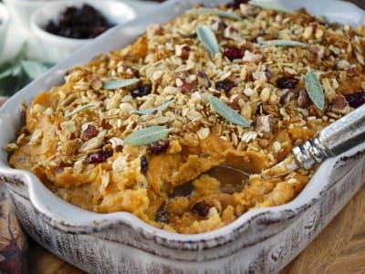 Image for Mashed Sweet Potato and Cauliflower Bake