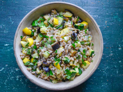 Image for Summer Vegetable and Farro Salad