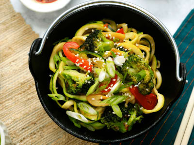 Image for Garlic & Sesame Zoodles