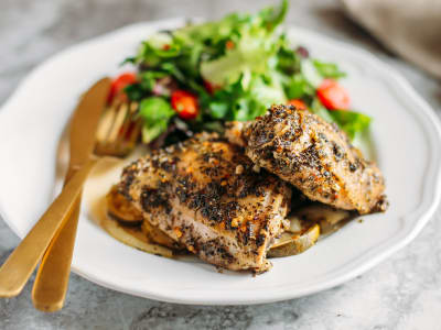 Image for Mediterranean Roasted Chicken