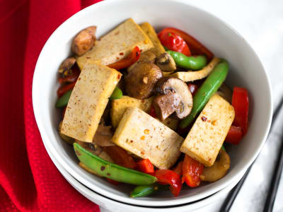 Image for Lemongrass Tofu Stir-Fry