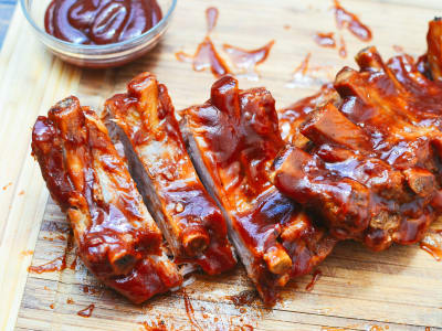 Image for Pressure Cooker Baby Back Ribs