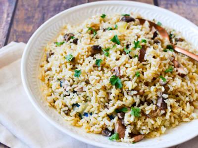 Image for Mushroom Rice Pilaf