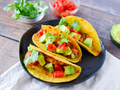 Image for Baked Vegetarian Tacos