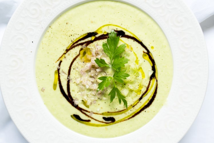 Image for Chilled Cucumber Soup