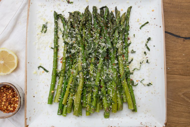 Image for Lemon Roasted Asparagus