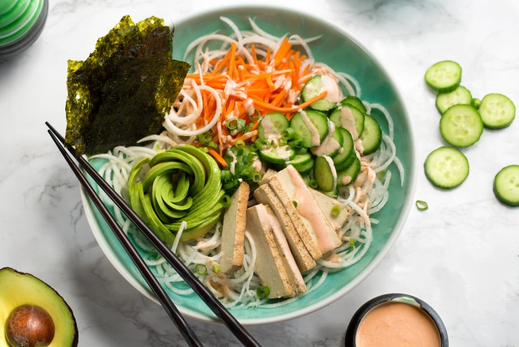 Image for Spiralized Vegan Sushi Bowls