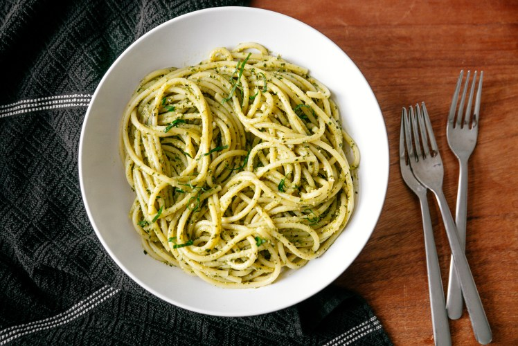 Image for Pesto Spaghetti