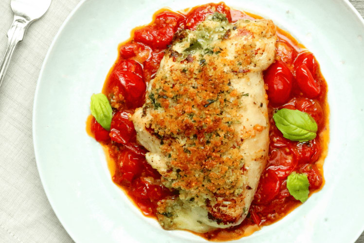 Image for Pizza-Stuffed Chicken