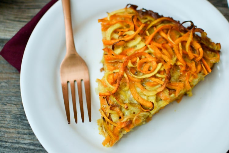 Image for Spiralized Sweet Potato and Parsnip Kugel