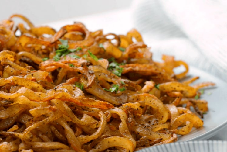 Image for Shoestring Curly Fries
