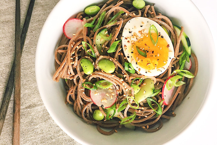 Image for Lemon-Miso Soba Noodle Bowl