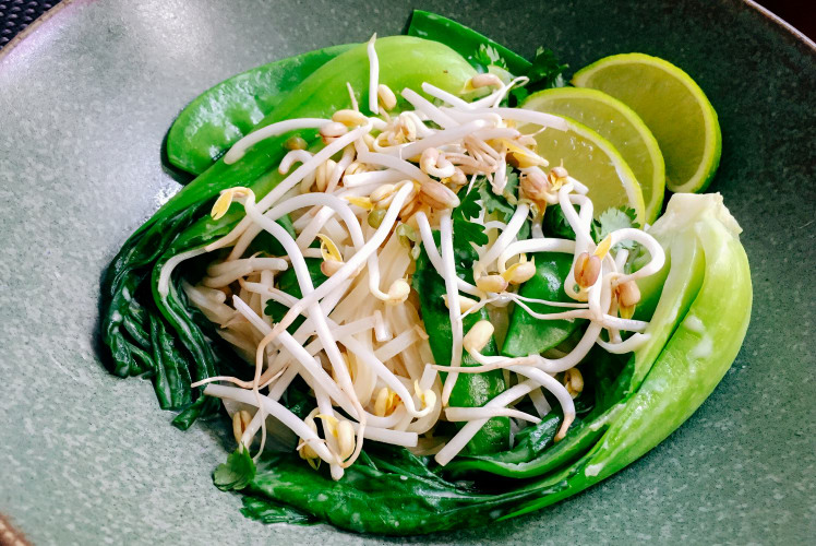 Image for Green Thai Curry with Bok Choy and Snow Peas