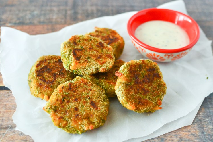 Image for Baked Broccoli-Cheddar Nuggets