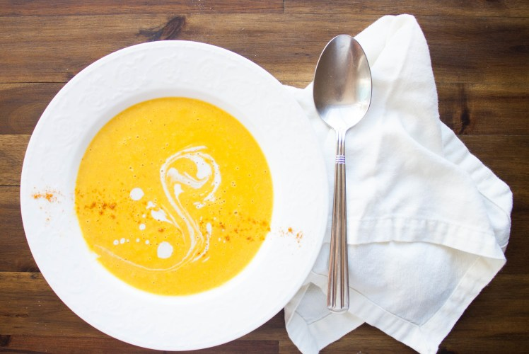 Image for Coconut-Curry Butternut Squash Soup