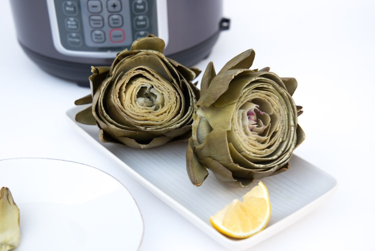 Image for Pressure Cooker Steamed Artichoke