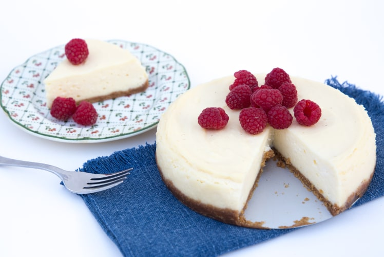 Image for Pressure Cooker Lemon Cheesecake