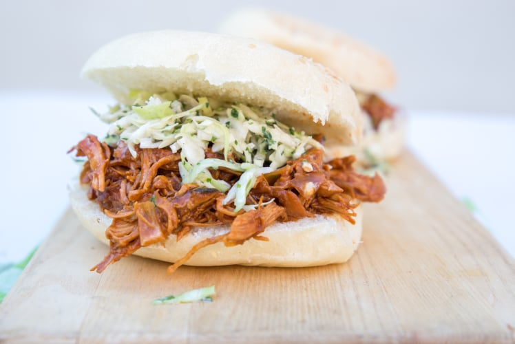 Image for Pressure Cooker Barbeque Chicken Sandwiches