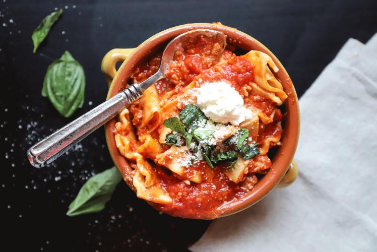 Image for Pressure Cooker Vegan Lasagna Soup