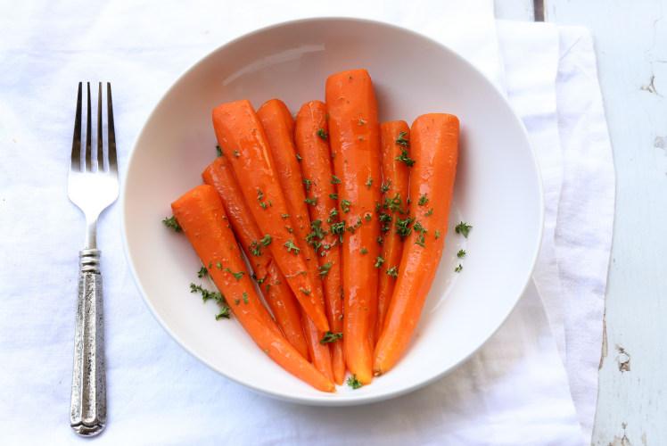 Image for Pressure Cooker Honey-Glazed Carrots