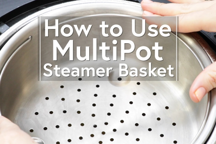 Image for Using the Steamer Basket