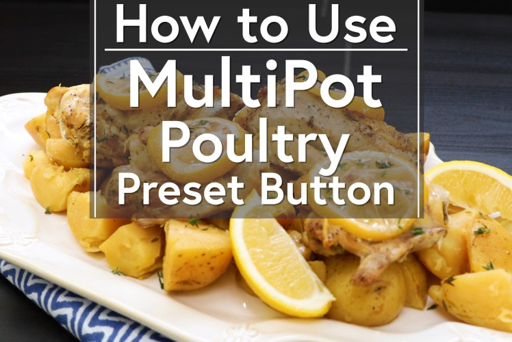 Image for Using the Poultry Button