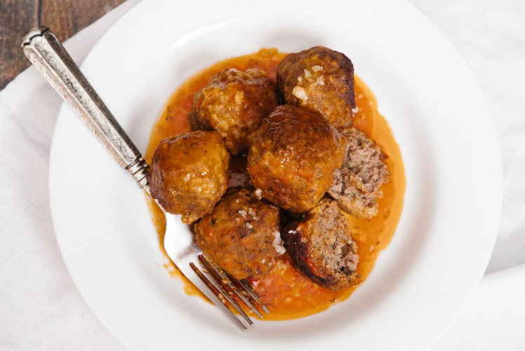Image for Pressure Cooker Meatballs