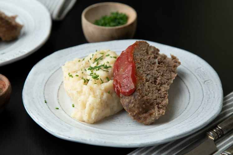 Image for Pressure Cooker Meatloaf and Mashed Potatoes