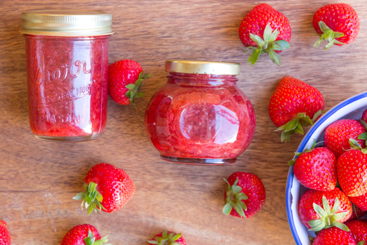 Image for How to Make Fresh Strawberry Jam in a Pressure Cooker