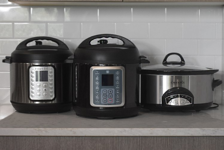 Image for A Quick Comparison of the Mealthy MultiPot, the Instant Pot, and the Crock Pot